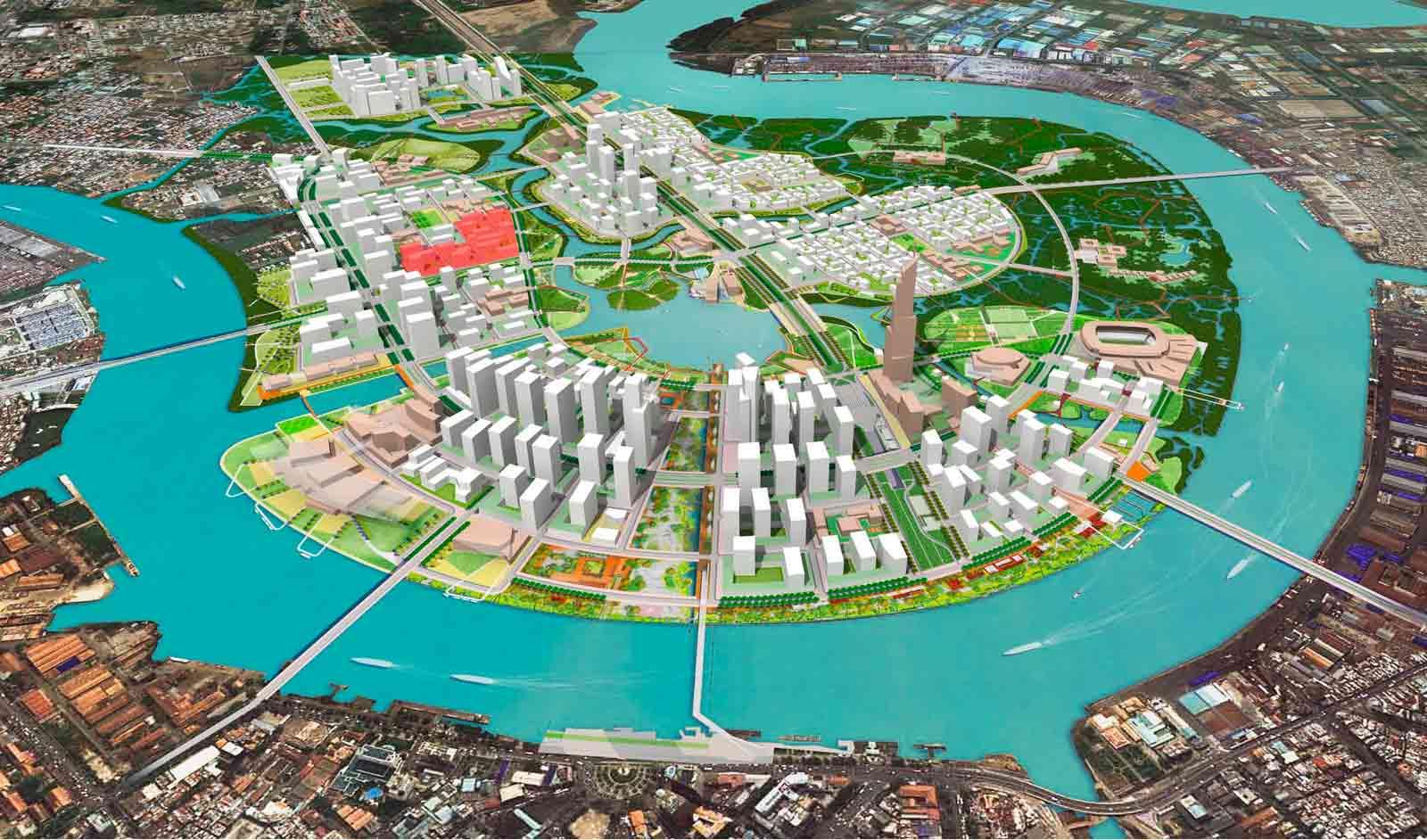 Dự án Thủ Thiêm Lake View Quận 2
