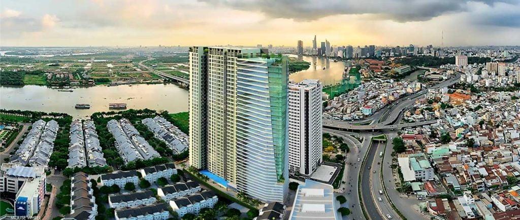 Hình phối cảnh dự án Opal Saigon Pearl