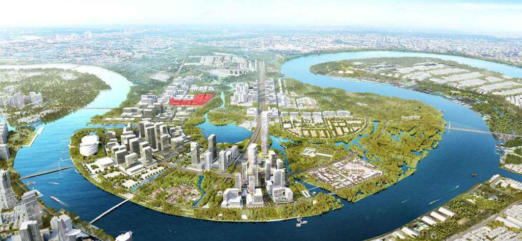 Quy hoạch tổng thể khu Thủ Thiêm Lake View Quận 2
